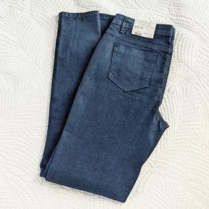 NWT - Topshop glitter sparkle Moto denim jeans
